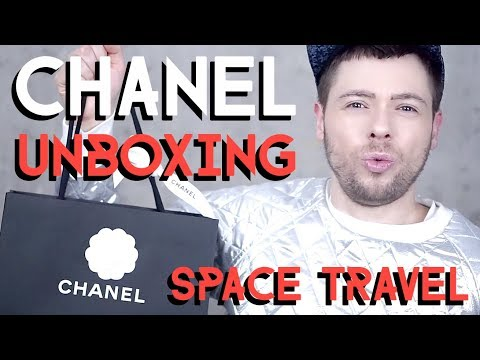 CHANEL space travel UNBOXING