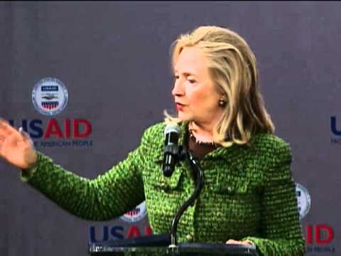 Secretary Clinton and Administrator Shah Deliver Remarks at USAID Town Hall Meeting