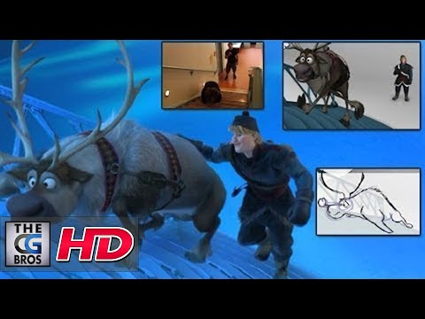 "CGI Animation Breakdowns : Walt Disney""s ""Frozen"" Shot Progression: ""Sven"" - by Daniel Peixe"