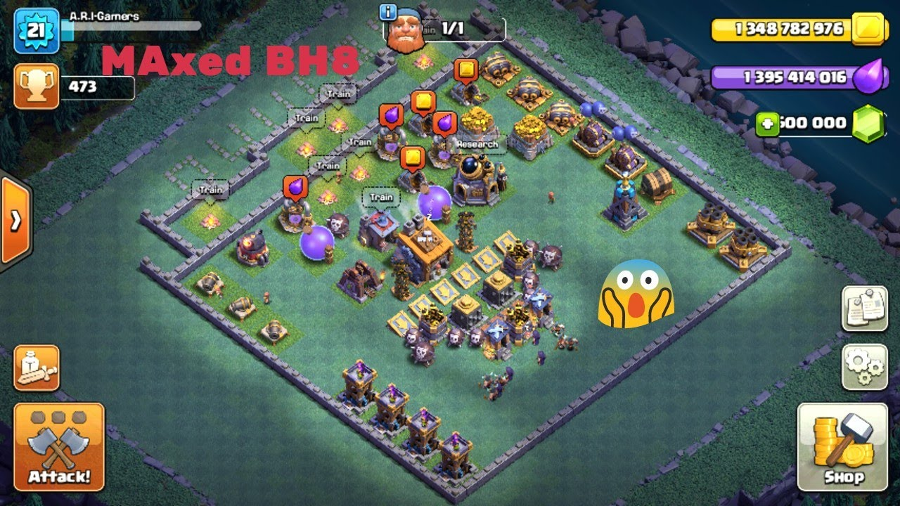 Builder Hall  Maxed