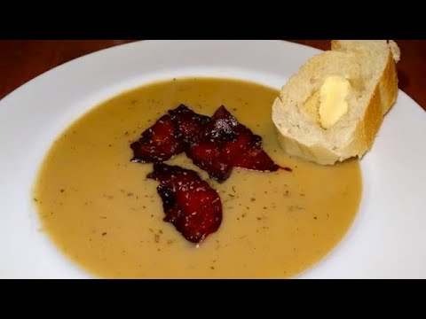 Hjemmelavet Cremet Kartoffelsuppe Opskrift 111 Youtube