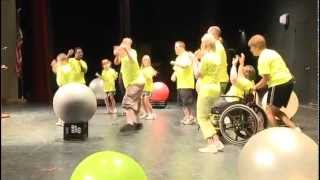 Jones Center for Special Education Excellence: 2012 Summer Institute Drums Alive Super Stars