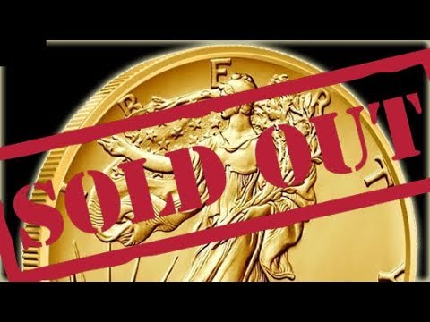 Gold Walker Sell Out!! Pit Bullion ANNOUNCEMENT!!!