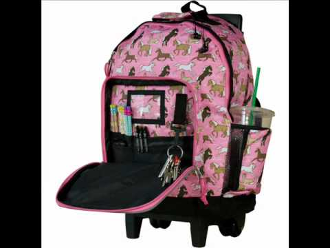 wildkin backpacks high roller rolling backpacks