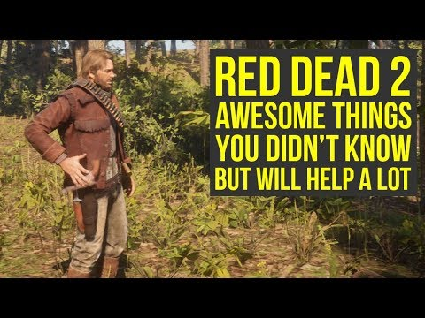 Red Dead Redemption 2 Tips Awesome Things You Likely Didn T Know