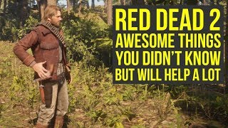 Red Dead Redemption 2 Tips AWESOME THINGS You Likely Didn