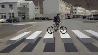 Town in Iceland Paints 3D Zebra Crosswalk To Slow Speeding Cars
