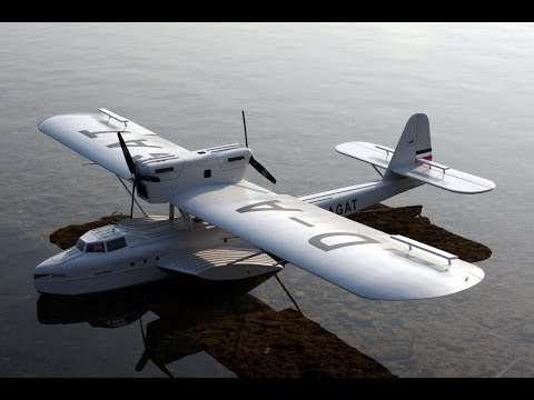 Dornier Do J (Wal)   first flight on the water