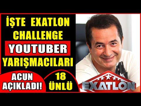 Acun Ilıcalı Exatlon Challenge Youtuber Yarışmacılarını Açıkladı! İşte Exatlon Challenge Kadrosu