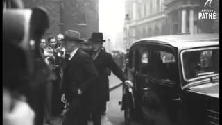 Prime Minister's Arrive At No 10 Downing Street 1948: Ch Zafrullah Khan