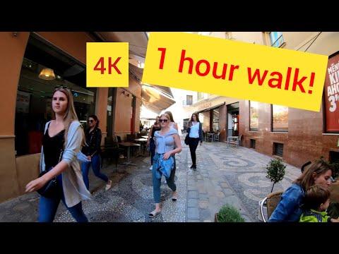 ⁴ᴷ MALAGA Walking Tour, Costa Del Sol, Spain 🇪🇸 4K