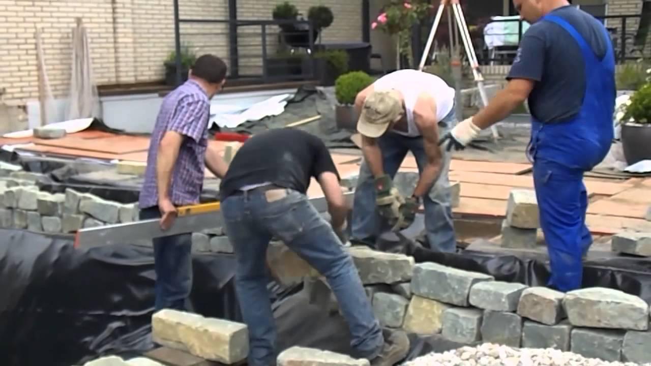 Gartenteich anlegen vom profi youtube for Gartenteich anlegen youtube
