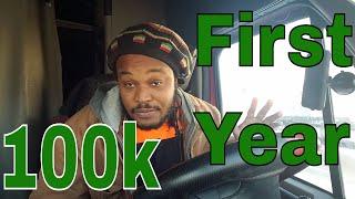 Trucking : First year i made 70k - 100k     ( BS OR TRU )