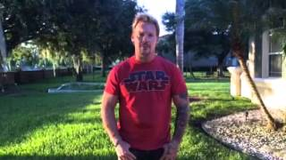 CHRIS JERICHO (Fozzy) - Ice Bucket Challenge