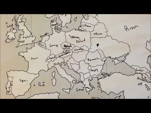 Americans Were Asked To Label A Map Of Europe And Then The Opposite
