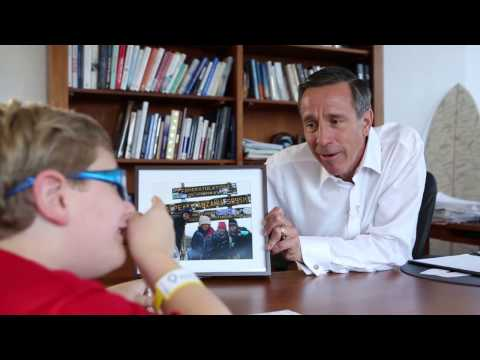 Miracle Kid Teddy Interviews Marriott's CEO