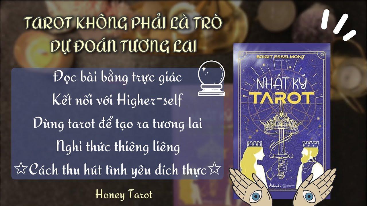 [Sách Nhật Ký Tarot] 🗝 Quyển sách dành cho những người yêu thích Tarot ~ Khám phá bản đồ linh hồn🌟