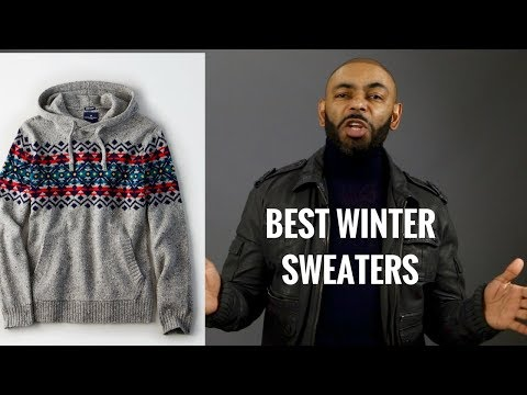 TOP 10 Best Men's Winter Sweaters/ Most Stylish And Affordable Men's Winter Sweaters