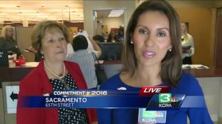 Big turnout expected in Sacramento for California primary