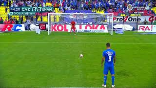 Gol de M. Caraglio   Cruz Azul 1 - 0 Pumas UNAM   LIGA Bancomer MX - Clausura 2019  - Jornada 15