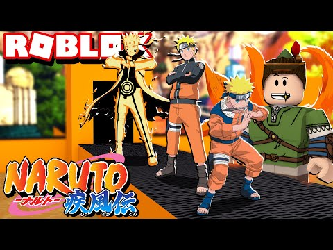 FÁBRICA DO NARUTO NO ROBLOX!! (Naruto Tycoon)