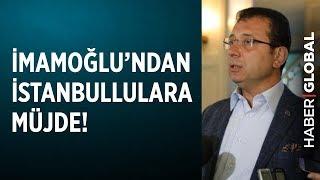 Ekrem İmamoğlu'ndan İstanbullulara Kurban Bayramı Müjdesi