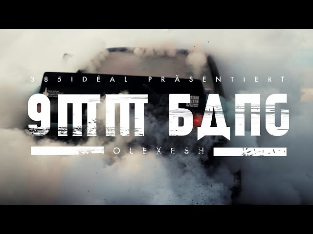 Olexesh - 9MM BANG (prod. von The Cratez) [Official Video]