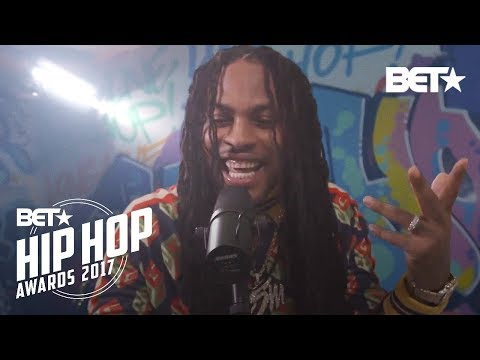 Waka Flocka Flame BET Hip Hop Awards 2017 Instabooth Freestyle