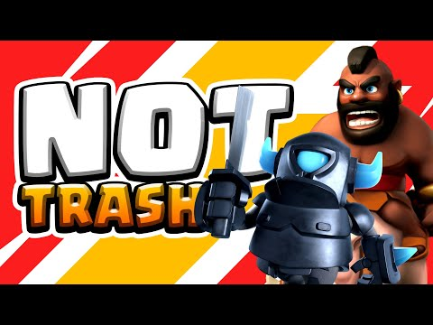 This Deck Is **NOT** Trash! Hog - Mini Pekka - Earthquake