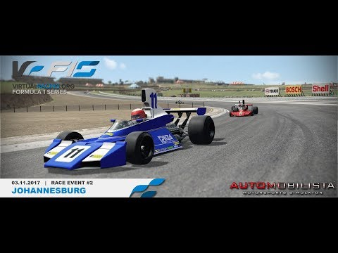 *onboard* F1 Retro Cup - Race#2 Johannesburg [virtualracing.org]