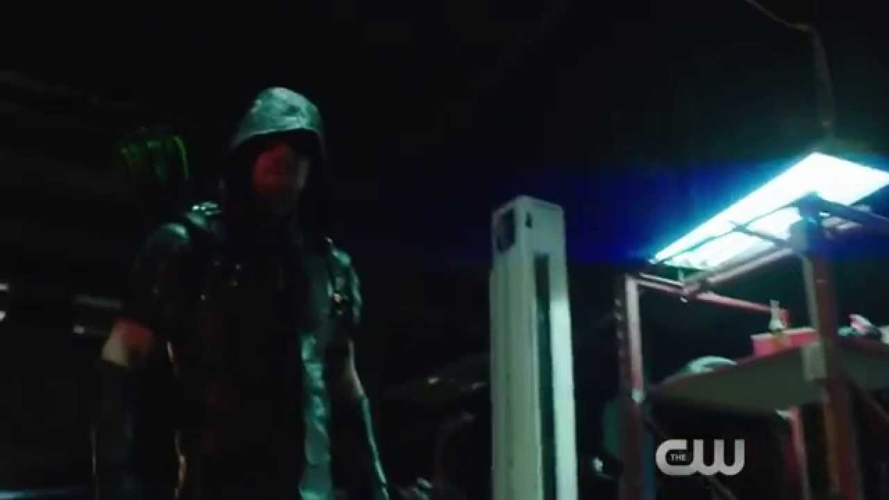 Arrow season 2 promo