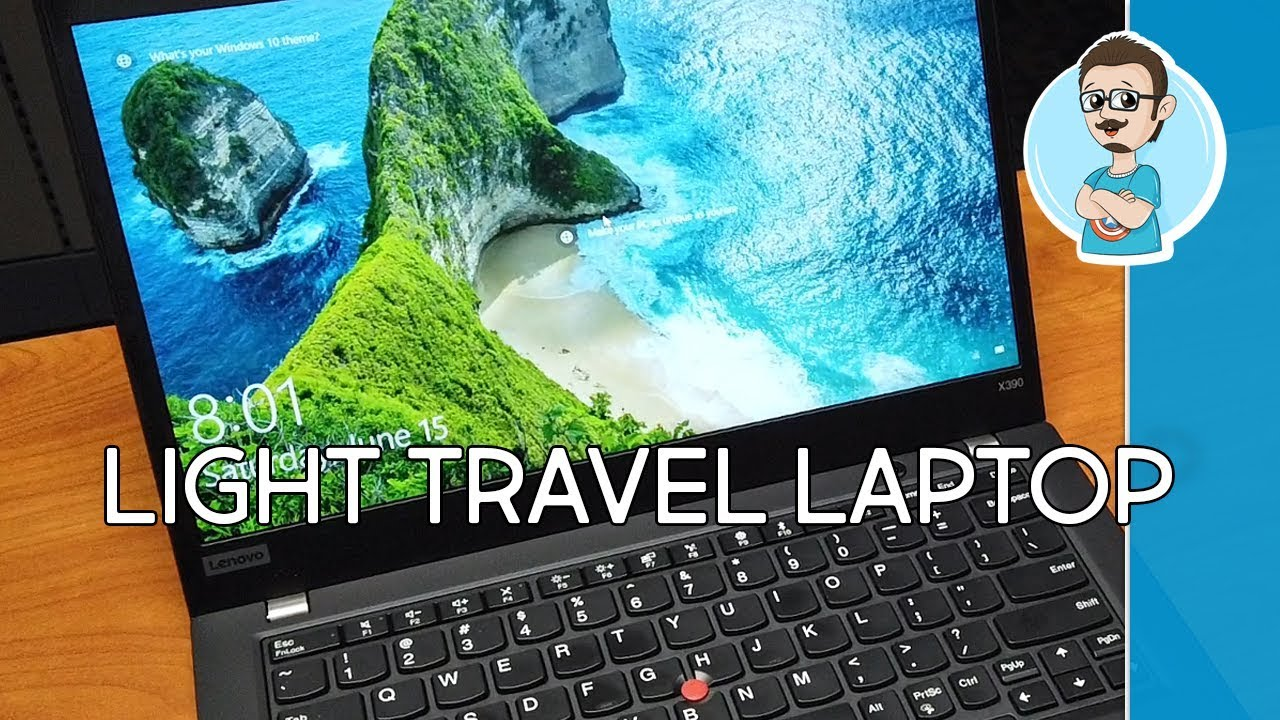Lenovo ThinkPad X390 Laptop Review | Perfect Traveling Laptop!