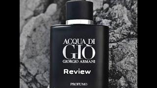 NEW Giorgio Armani Acqua di Gio Profumo REVIEW