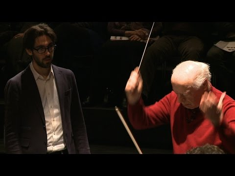 Meisterkurs Dirigieren | Bernard Haitink | Lucerne Festival at Easter | Brahms, Tragische Ouvertüre