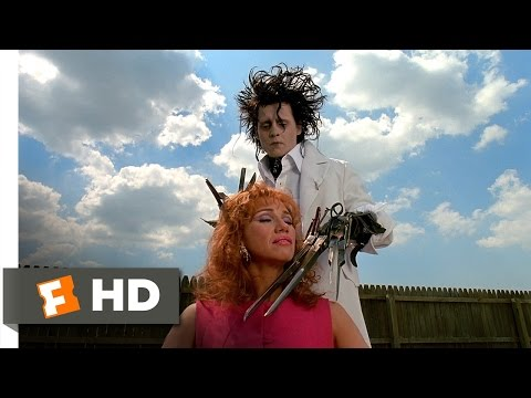 Edward Scissorhands (1990) - A Thrilling Experience Scene (2/5) | Movieclips