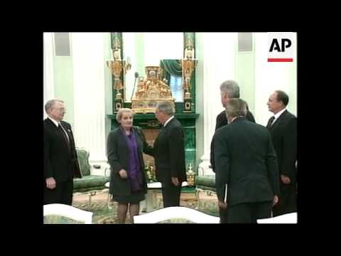 RUSSIA: MOSCOW: US PRESIDENT CLINTON MEETS YELTSIN FOR SUMMIT