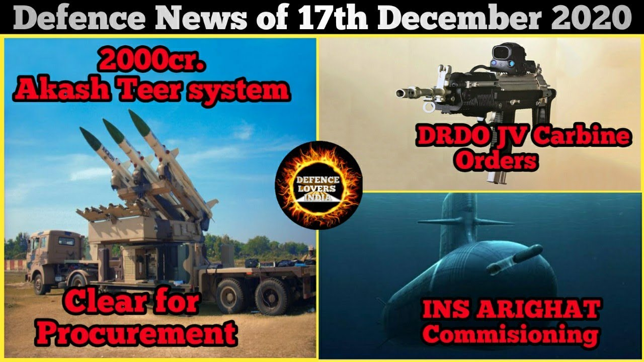 Download Defence updates and news of 17 December 2020, IndegeniousbCarbine ready for induction , INS Arighat