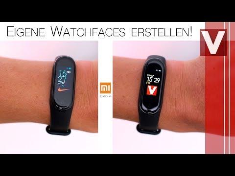 Personalisierte Watchfaces für Mi Band 4 erstellen (Tutorial) - Venix