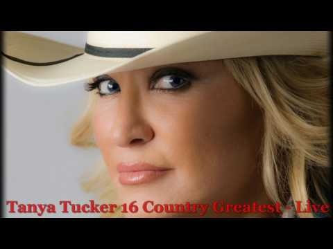 Tanya Tucker - 16 Country Greatest (Live) [HQ]
