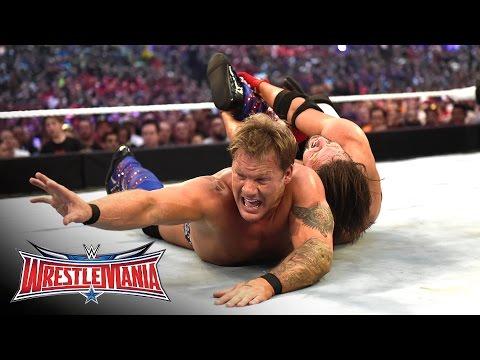 AJ Styles vs. Chris Jericho: WrestleMania 32 on WWE Network