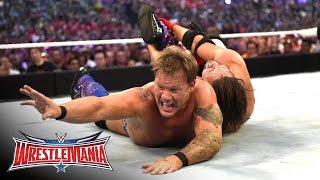 aj styles vs chris jericho wrestlemania 32 on wwe network