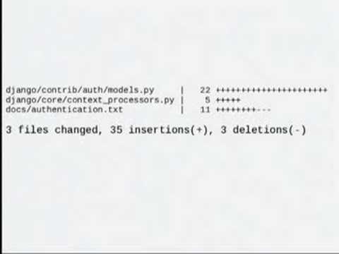 Image from DjangoCon 2008: Code Writing and Design