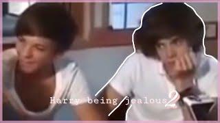 Harry being jealous 2 // Larry Stylinson