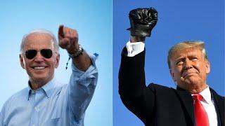 Donald Trump et Joe Biden terminent leur campagne avant un scrutin historique