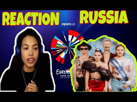 RUSSIA EUROVISION 2020 | REACTION VIDEO | LITTLE BIG- UNO