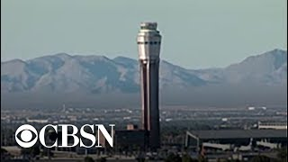 Air traffic controller heard slurring her words