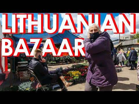 Lithuanian Bazaar (Market)