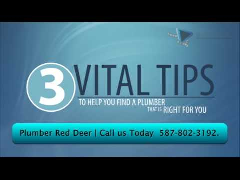 Plumber Red Deer | 587-802-3192 Drain Doctor