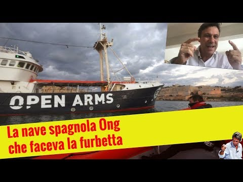 La nave Ong spagnola che faceva la furbetta (19 mar 2018)