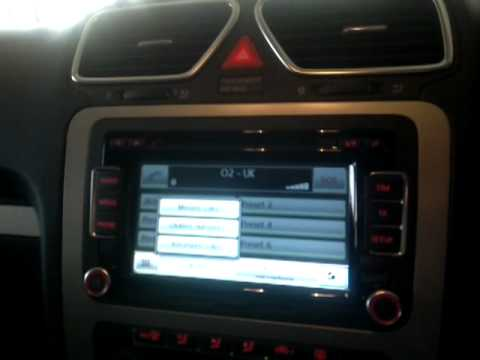 Kufatec Fiscon Basic Plus installed into VW Scirocco Bluetooth Kit working  with Iphone